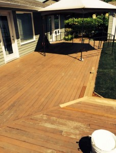 Before Deck Pressure Washing Vancouver, WA